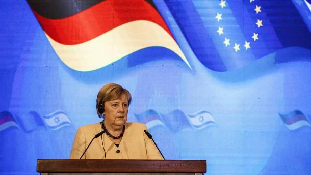 Merkel spricht über die Zukunft des Atomabkommens