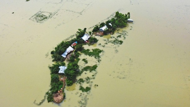 Tausende Dörfer überflutet