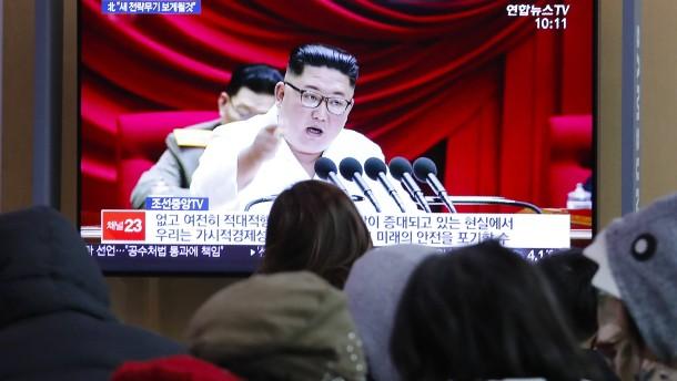Kim fühlt sich nicht mehr an Atomteststopp gebunden