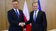 Tusk kritisiert EU-Verfahren gegen Polen