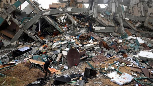 Was in Gaza zerstört wurde, baut Qatar wieder auf