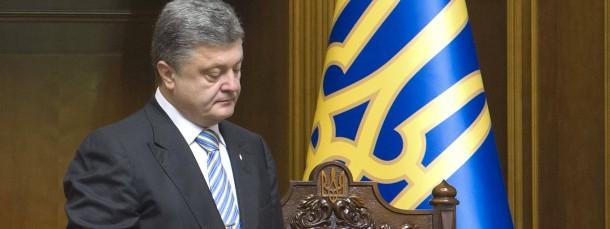 Petro Poroschenko ist dabei sich prominente Mitstreiter für seine Präsidentenpartei zu sichern