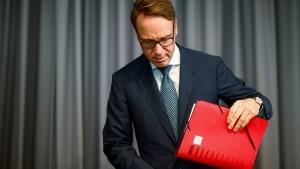 Weidmann warnt vor digitalem Zentralbankgeld