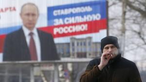 Putin hat nicht die Legitimation des Volkes