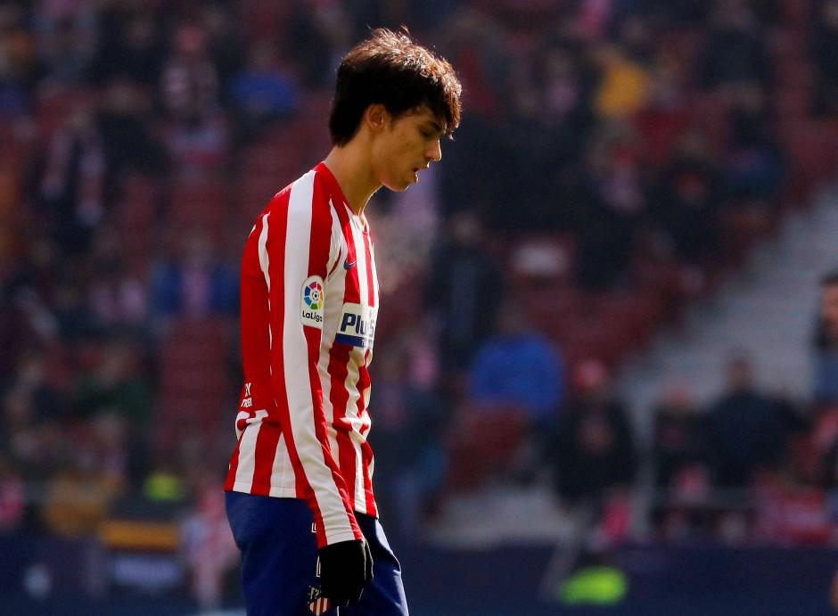 Bereits unglücklich in Madrid: Portugiesischer Superstar und möglicher Ronaldo-Nachfolger João Félix.