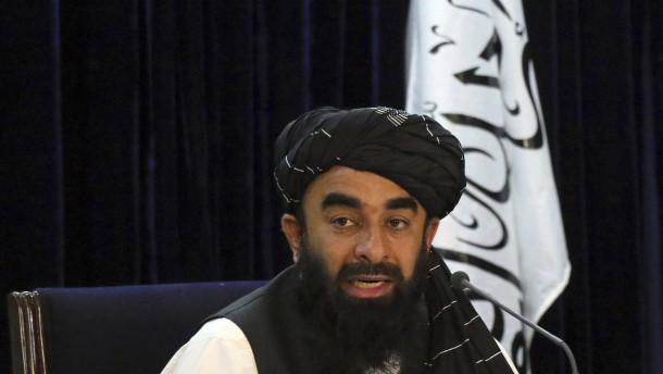 Die Taliban an der Macht
