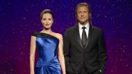 Da waren sie noch vereint: Wachsfiguren des Traumpaars bei Madame Tussauds 2013.