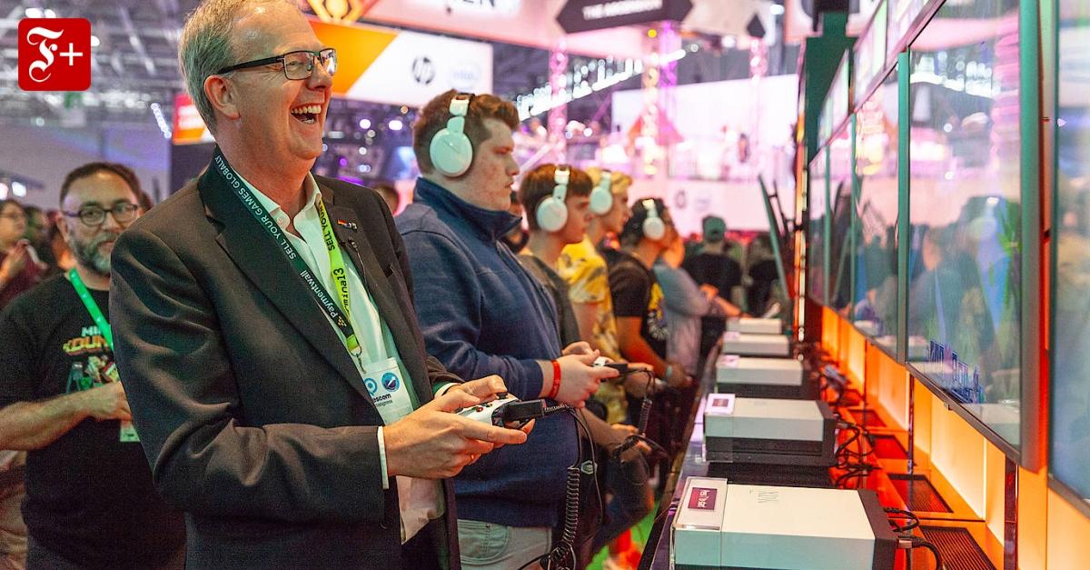 Axel Voss Gamescom