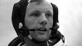 """12. Juni 1969: Armstrong, Kommandant, vor dem Start von """"Apollo 11"""""""