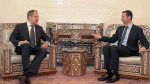 Russland lobt Assad