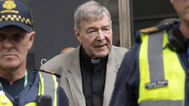 Kardinal Pell zu sechs Jahren Haft verurteilt