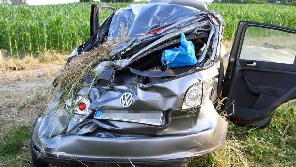 Drei Tote nach Verkehrsunfall auf A92