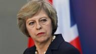 May will britisches Parlament offenbar nicht zu Brexit befragen