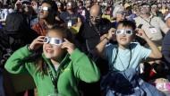 Augen zu und durch: Die Sonnenfinsternis in Amerika ist ein historischer Moment.