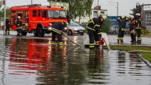 Feuerwehr in Hamburg im Dauereinsatz