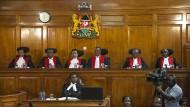 Oberstes Gericht erklärt Präsidentenwahl für ungültig