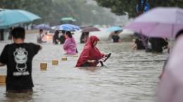 Tote nach Flutwelle in Zhengzhou