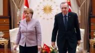 Erdogan wirft Merkel Unterstützung von Terroristen vor