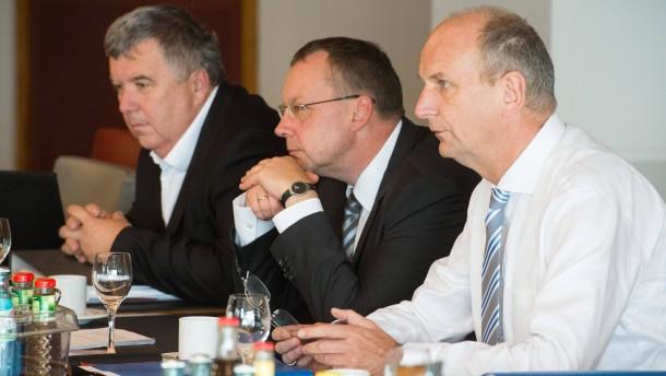 Rot-Rote Koalition in Brandenburg steht
