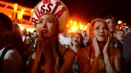 Russland trauert, Kroatien feiert