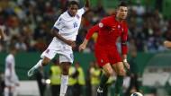 Kein Geringerer als Ronaldo: Der Mainzer Barreiro traf mit Luxemburg auf Portugal und den Superstar.