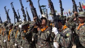 Fast 50 Soldaten bei Kämpfen mit Rebellen getötet