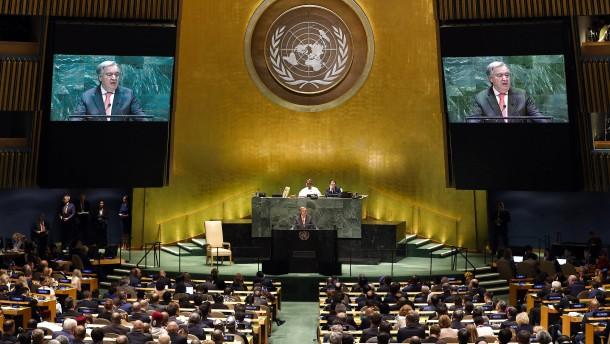 Kritische Töne zum 75. Geburtstag der Vereinten Nationen