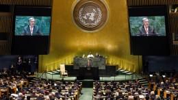Kritische Töne zu 75. Geburtstag der Vereinten Nationen