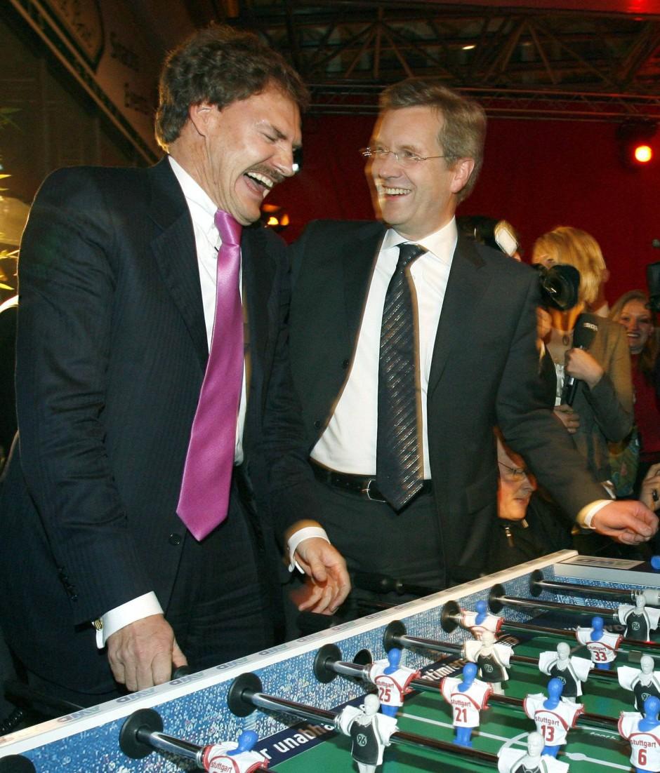 Alte Zeiten: Öffentliche Begegnungen mit Maschmeyer scheint Wulff inzwischen zu scheuen