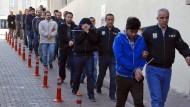 Gegen die Imame der Polizei