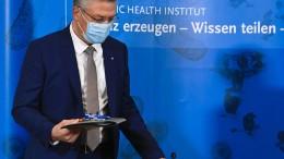 Pressekonferenz des RKI zur Pandemie-Entwicklung
