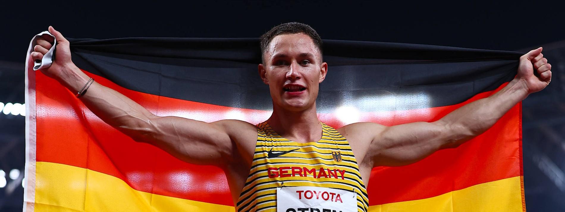 Streng sprintet zu Gold – dreimal Bronze