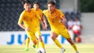 Testspielgegner und Geldbringer: Die U-20-Nationalmannschaft aus China tritt auch am Bieberer Berg an.