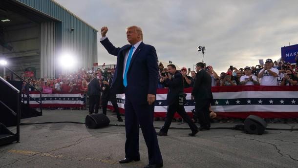 Der Präsident mobilisiert wieder