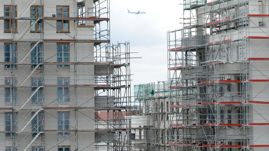 Neubaugebiet in Frankfurt: Der Platz in der Großstadt ist begehrt.