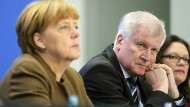 Merkel weist Seehofer-Vorwürfe zurück