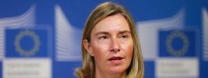 Die EU-Außenbeauftragte Federica Mogherini (hier Anfang Juni in Brüssel) reagierte besorgt auf Amerikas Rückzug aus dem UN-Menschenrechtsrat.