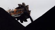Soll teurer werden: Kohle im Hafen von Newcastle