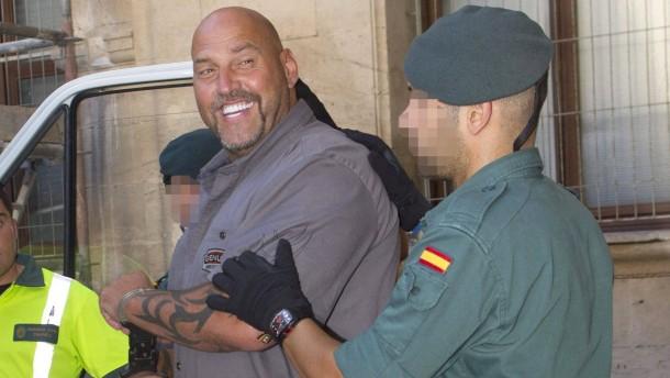 Frank Hanebuth bleibt auf Mallorca in Haft