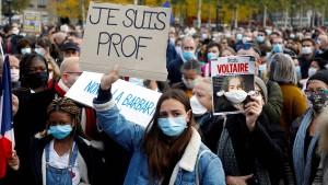 Frankreich zwischen Trauer und Wut