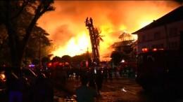 Großbrand in 5-Sterne-Hotel