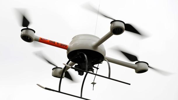 Streit um Drohne der hessischen Polizei