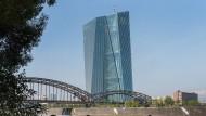 Die Europäische Zentralbank (EZB) in Frankfurt am Main