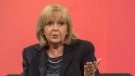 Nordrhein-Westfalens Ministerpräsidentin Hannelore Kraft in der Sendung von Sandra Maischberger