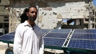 Solarkraft hilft Syrern im belagerten Duma