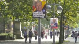 Enges Rennen zwischen SPD und CDU