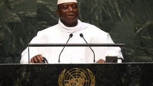 Gambia verlässt Internationalen Strafgerichtshof