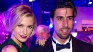 Keine Restliebe mehr im Pott übrig: Sami Khedira und Lena Gercke