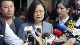 Taiwan bittet Verbündete um Schutz vor Peking
