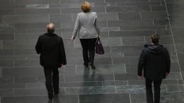 Union marschiert Richtung Groko, SPD überlegt noch